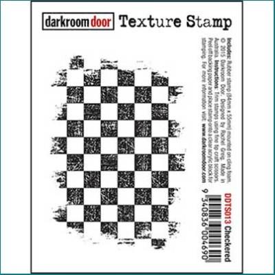 Darkroom Door checkered