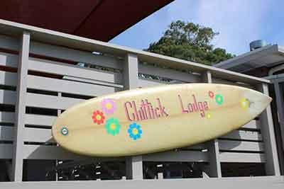 chittick lodge surfboard