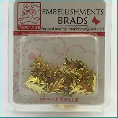 18mm Gold Xmas Tree