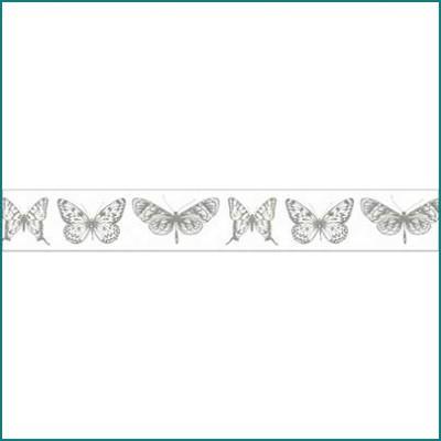 Kaiser printed tape butterflies
