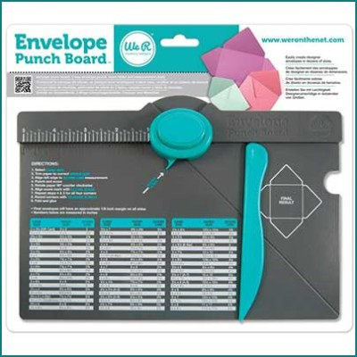 We R Envelope Punch Board