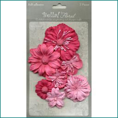 bella paper flowers Pink