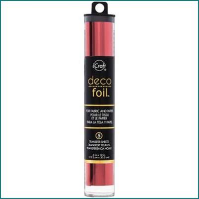 Deco Foil red
