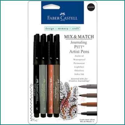 Faber Castell Pitt Artist Journal Pen Set assorted
