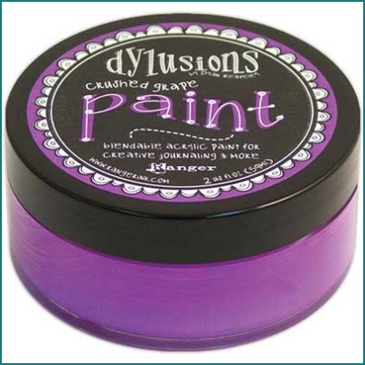 Dylusions Paint crushed grape