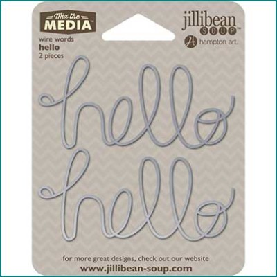 jillibean-soup-HELLO-wire-word-fopt