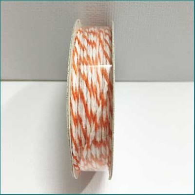 AC Bakers Twine orange and white