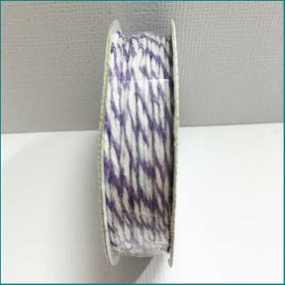 AC Bakers Twine purple and white