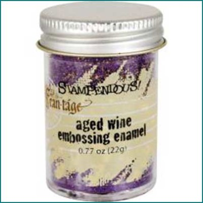 Stampendous Aged Embossing Powder Wine