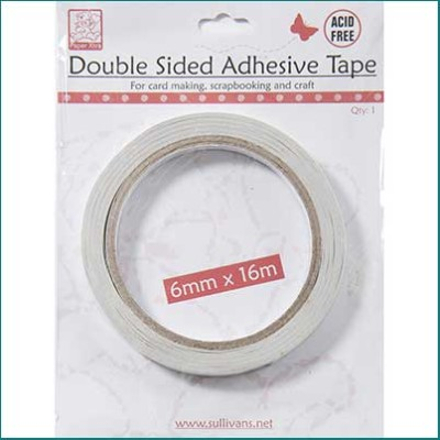 6mm double sided tapesingle roll