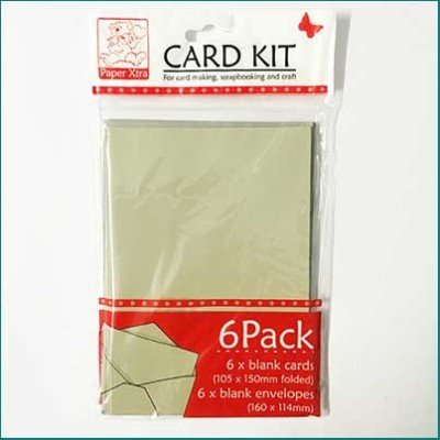 Card Pack with Envelopes Beige