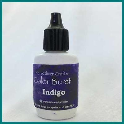 color burst indigo