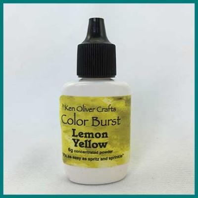 color burst yellow lemon