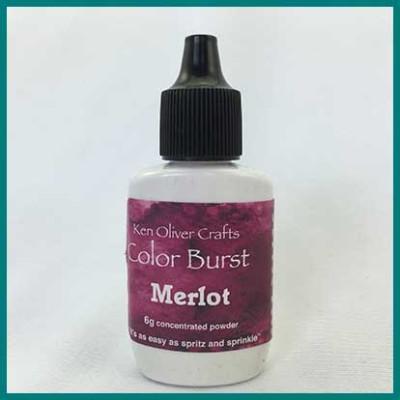 color burst merlot