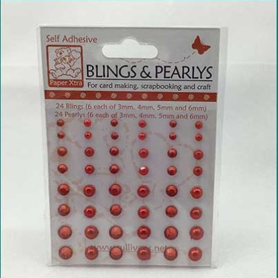 red bing and pearls