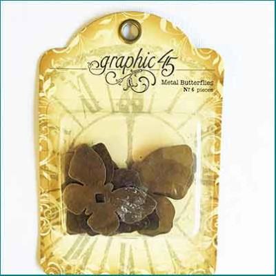 G45 metal butterflies