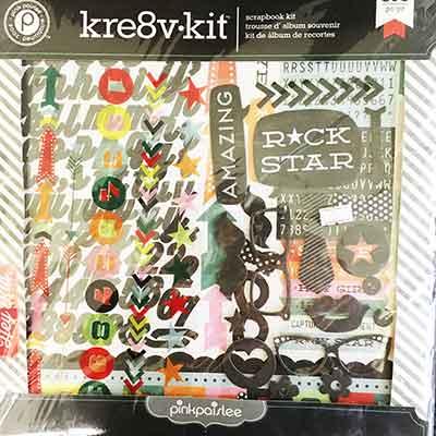 Pink Paislee Kre8v Kit