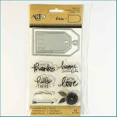 Art C Stamp and Cut Tags