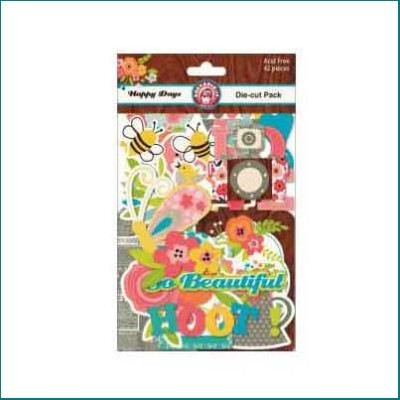 Bella Happy Days Die Cut Pack