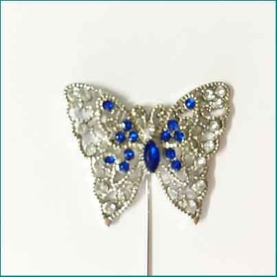 Butterfly Pin Blue