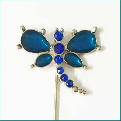 Dragonfly Pin Blue
