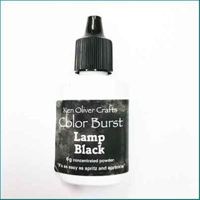 color burst lamp black