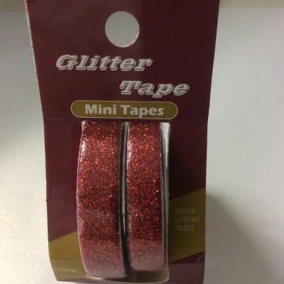 Glitter Tape red
