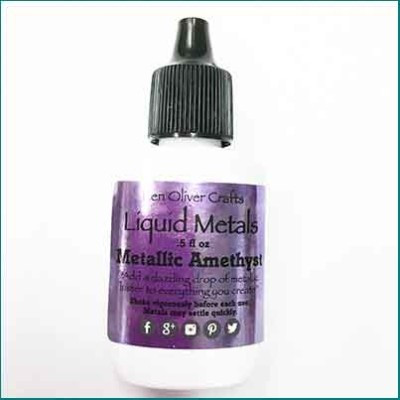 Liquid Metals Metallic Amethyst