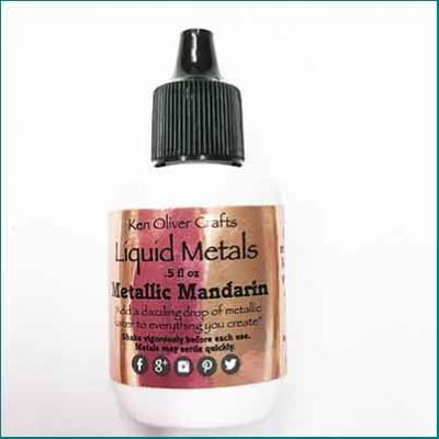 Liquid Metals Metallic Mandarin
