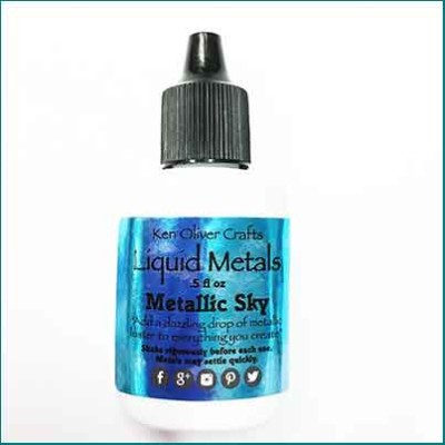 Liquid Metals Metallic Sky