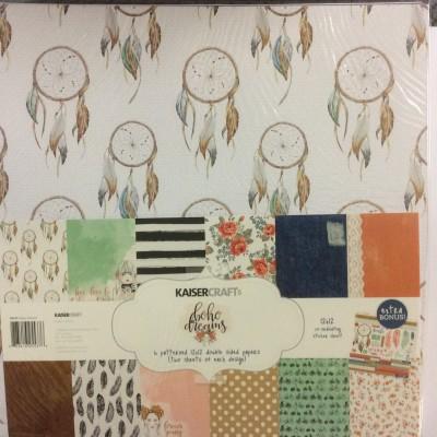Boho Dreams Paper Pack 12x12