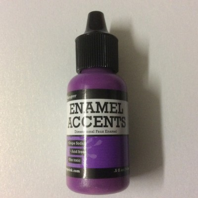 Enamel Accents Grape Soda