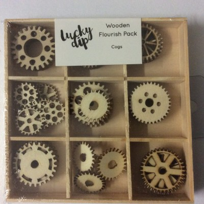 Wooden Flourish Pack cogs