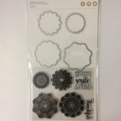Dies and Stamp set doilies