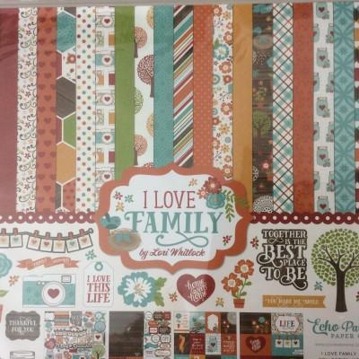 Echo Park - 'i love family' kit