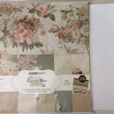 Cherry Tree Paper Kit