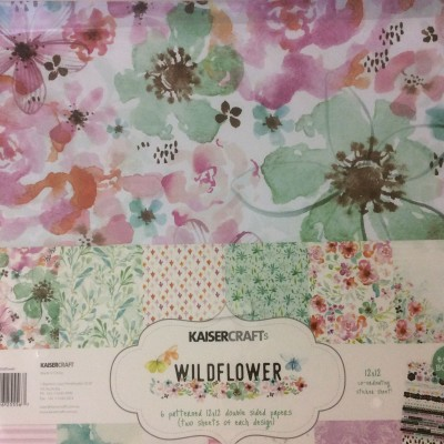 Wildflower paper pack