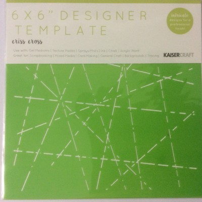 6x6 template criss cross