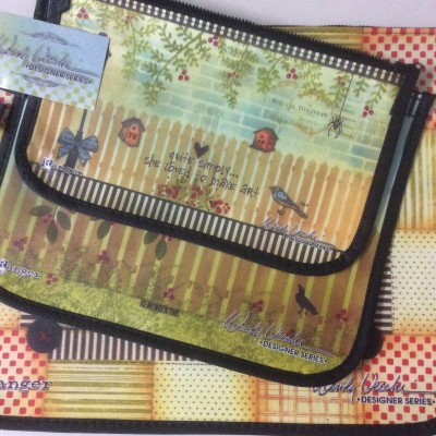 Wendy Vecchi designer bag set